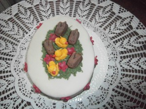 Velikonoční dort
