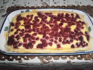 Listový tvarohový koláč