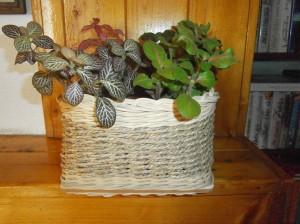 Košík na květiny