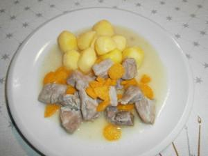 Vepřové maso dušené s mrkví
