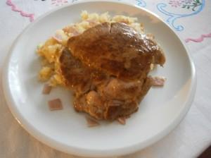 Steak z vepřové krkovice
