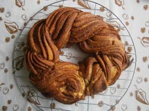 Skořicový kringel