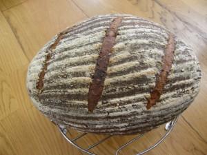 Celozrnný kváskový chléb