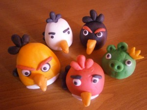 Figurky Angry Birds