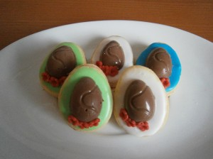 Marcipánová vajíčka s čokoládou