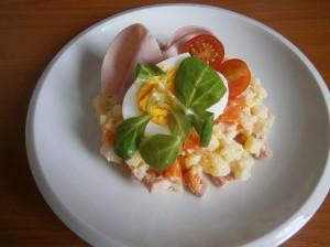 Obložené vejce