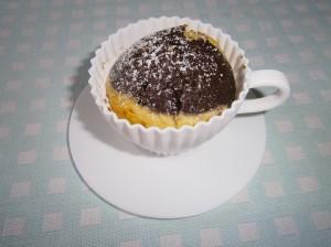 Dvoubarevné muffiny