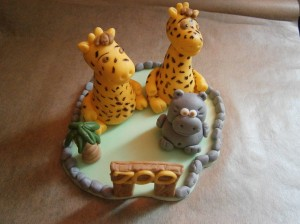 Žirafy a hrošík