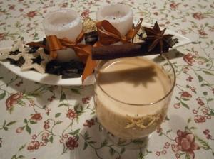 Vánoční karamelový likér