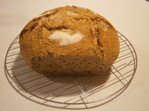 Kváskový pětisemínkový chléb