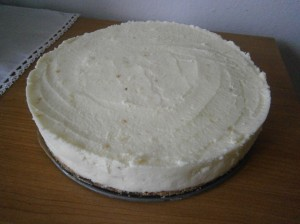 Cheesecake s mascarpone