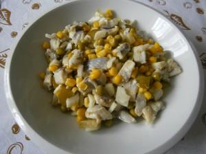 Sleďový salát
