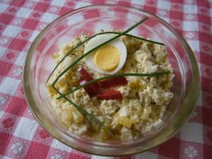 Celerová pomazánka s vejci