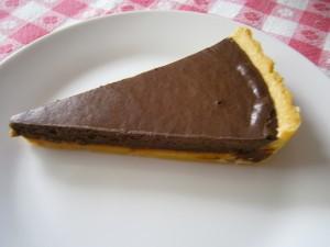 Čokoládový koláč s karamelem