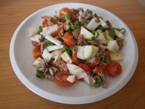 Salát s hovězím masem