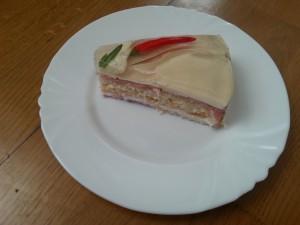 Dílek aspikového dortu
