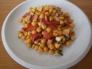 Cizrna s rajčaty
