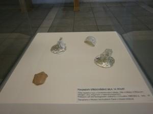 Nejstarší skleněné exponáty