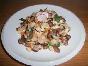 Fazole s kořenovou zeleninou