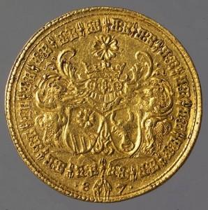 Svatební mince Viléma a Polyxeny