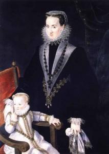 Marie Manrigue de Lara s dcerou Polyxenou