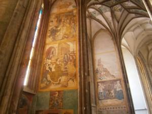 Výzdoba Chrámu sv. Barbory