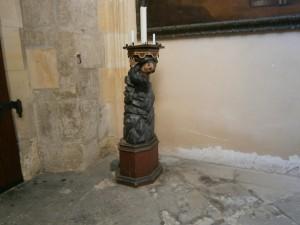 Hornický motiv ve výzdobě Chrámu sv. Barbory