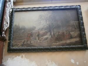 Obraz z Chrámu sv. Barbory