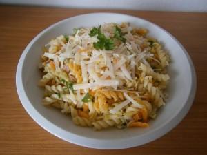 Těstoviny s kořenovou zeleninou