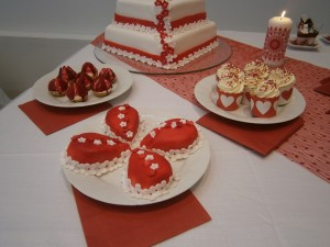 Svatební zákusky