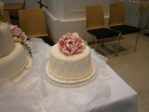 Svatební menší dortík