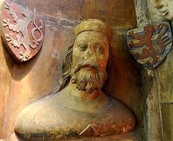 Janova busta z katedrály sv. Víta