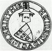 Jindřichova pečeť z roku 1303