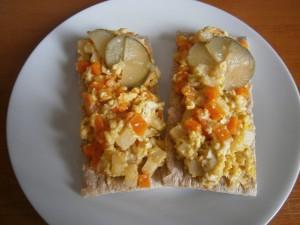 Drožďová pomazánka s kořenovou zeleninou