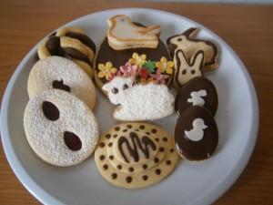 Velikonoční  linecké cukroví