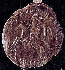 Pečeť Přemysla Otakara I. z roku 1223