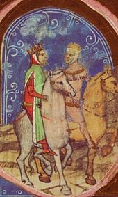 Václav III. se navrací do Čech