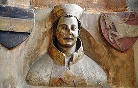Busta Arnošta z Pardubic