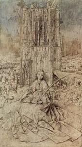 Eliška jako sv. Barbora