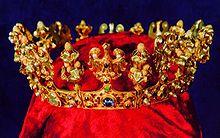 Koruna nalezená ve Slezské Středě