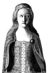 Nákres Annina náhrobku