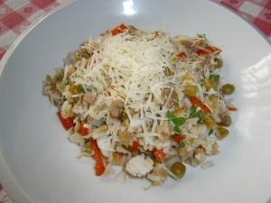 Rýže s kuřecím masem