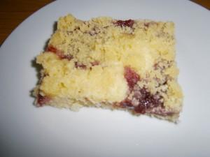 Marmeládový koláč s drobenkou