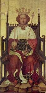 Portrét ve Westminster Abbey