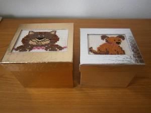Krabičky se zvířátky
