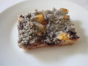 Švestkový koláč s makovou žmolenkou