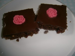 Perník s povidly a čokoládou