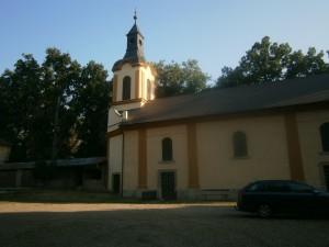 Kostel v Jizerním Vtelně