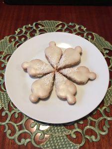 Kokosové vánoční ozdoby